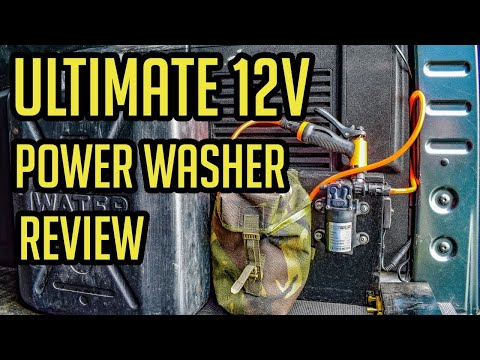 Amazing 12v Pressure Washer Review – It's Just Brilliant!