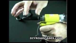 DIY Road Cases ® Rivet Gun Tutorial - Featuring Larry Cox