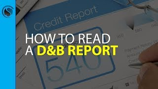 How to Read Your Dun & Bradstreet Business Credit Report LIVESTREAM