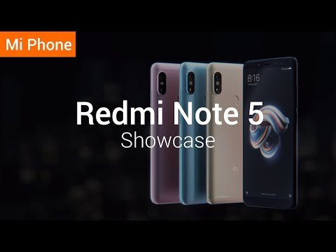 Презентация Xiaomi Redmi Note 5