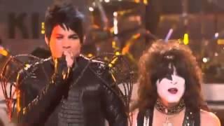 Adam Lambert & Kiss - Beth, Detroit Rock City (American Idol Performance)