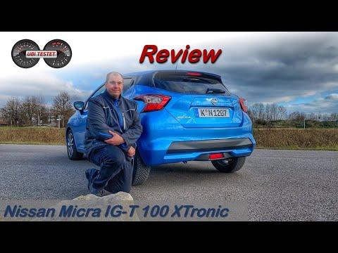 2020 Nissan MICRA IG-T 100 N-Way - Was kann der Kleinwagen mit Automatik? | Review - Test - Alltag