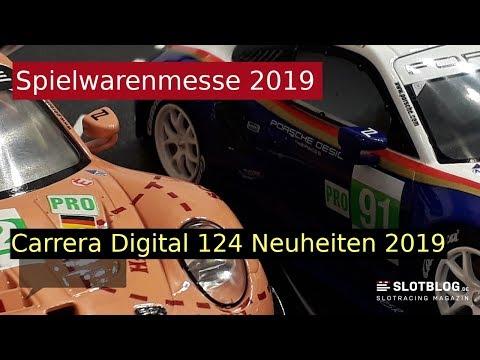 Carrera Digital 124 Neuheiten 2019 auf der Spielwarenmesse Nürnberg