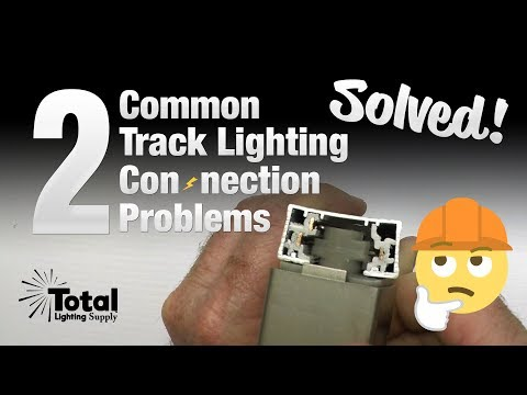 2 Common Track Lighting Connection Problems SOLVED