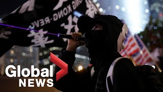 "Thousands in Hong Kong mark six months of pro-democracy protests at ""United We Stand"" rally"