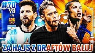 NAJLEPSZE TRIO W ATAKU!! - ZA HAJS Z DRAFTÓW BALUJ FIFA 17 FUT DRAFT [#70]