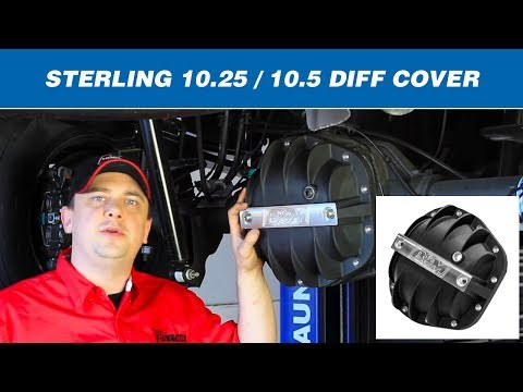 1985-19 Ford F250/F350 with Sterling 10.25/10.50 - Hi-Tek Diff Cover 41299