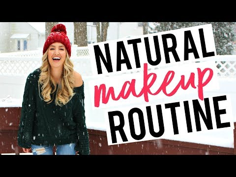 My (Almost) Non-Toxic Makeup Routine! Everyday, Natural Glam | Becca Bristow