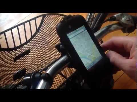 """ifun.de - iPhone Fahrradhalterung: """"H10 Bike Mount"""" von Luxa"""