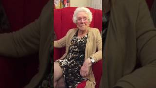 Mum, Iris at 95 shows she's still got it! Singing Silk Stockings from 1941