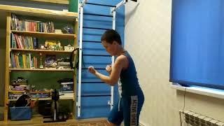 Тренируемся дома 22 (Соловьев Иван рук.бой)