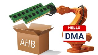 DMA on STM32 HAL with 2 example projects   VIDEO 36