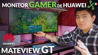Mateview GT: PROBAMOS el primer monitor GAMER de Huawei en México
