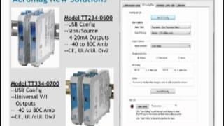 Sensores de temperatura resistivos y aplicaciones con Acromag