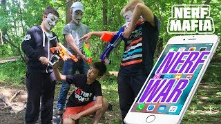 Нёрф Война Гопники Отжали Телефон 😱 ||Nerf War Bandits stole the phone