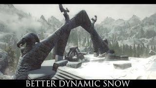 Skyrim SE Mods: Better Dynamic Snow