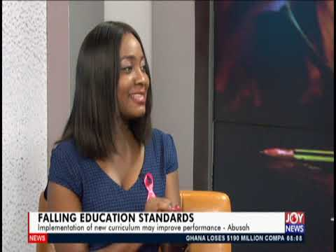 Falling Education Standards - AM Show on JoyNews (23-10-19)