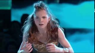 Eva Igo in world of dance Dancing the song Creep.