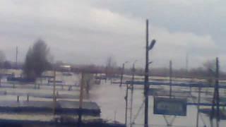 Уральск потоп (гаражи чаган)