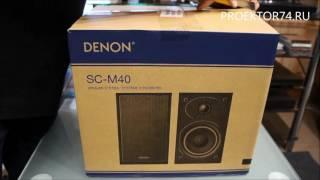 Обзор микросистемы Denon DM 40