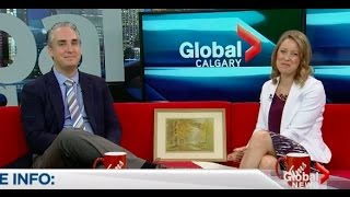 Rob Cowley Chats with Global News Morning Calgary (September 7th, 2016) - Video Youtube