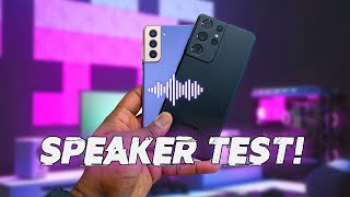 Samsung Galaxy S21 Ultra Speaker Test!
