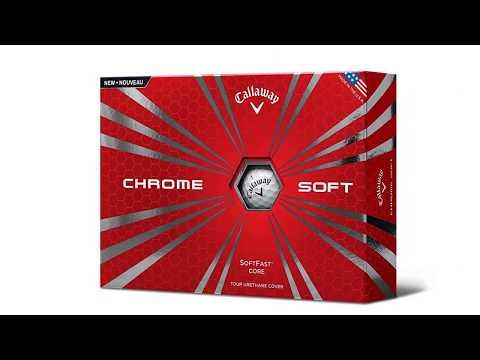 Callaway Golf Chrome Soft Golf Balls - REVIEW VIDEO