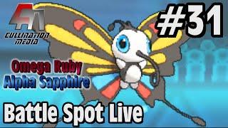Beautifly  - (Pokémon) - Pokemon Omega Ruby and Alpha Sapphire: Battle Spot Live #31: Beautifly is Broken