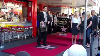 The Walk of Fame - Joe Mantegna, Rachel Nichols, A.J. Cook, Kirsten Vangsness et Shemar Moore