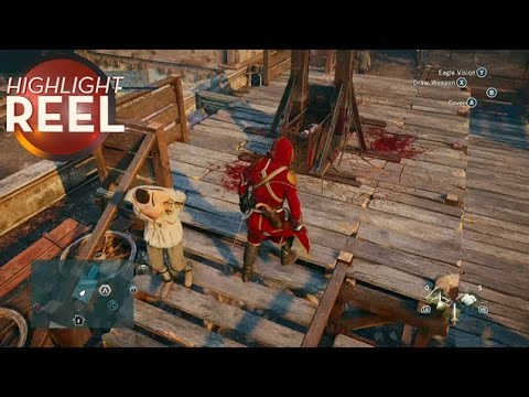 Assassin's Creed Guy Seems Fine Without A Head