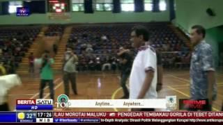 Djarot Syaiful Hidayat Buka Turnamen Futsal GOR Bulungan