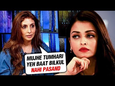 Shweta Bachchan REVEALS What She HATES About Aishw