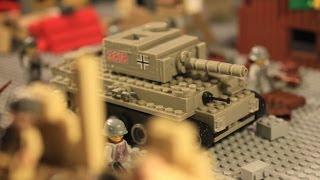 Lego WW2 Stalingrad battle 2nd part / Лего ВОВ мультфильм Сталинград (2 серия)
