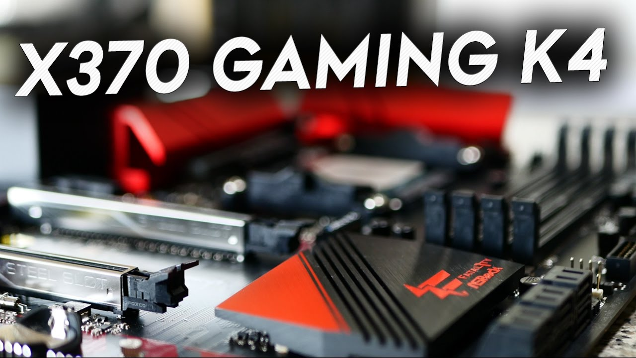 ASROCK FATAL1TY X370 GAMING K4 MOTHERBOARD DRIVERS DOWNLOAD FREE