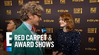 Emma Stone Ryan Gosling Has Restraining Order Against Me  E Live From The Red Carpet