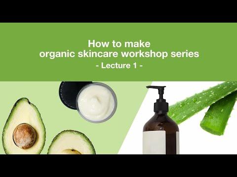 How to formulate organic skincare