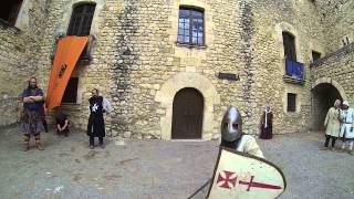 preview picture of video 'Medieval Sant Marti Sarroca Junio 2013 - POV - Illion van Goldingen vs Otto'
