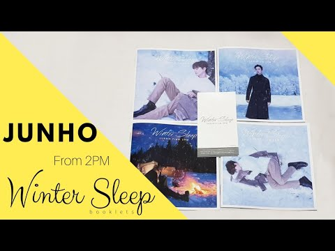 "JUNHO (From 2PM) ""Winter Sleep"" Booklets"