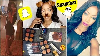BEST OF SNAPCHAT | Vlog MB Beauty & Colourpop, Chillin with bae, snapchat selfies ...