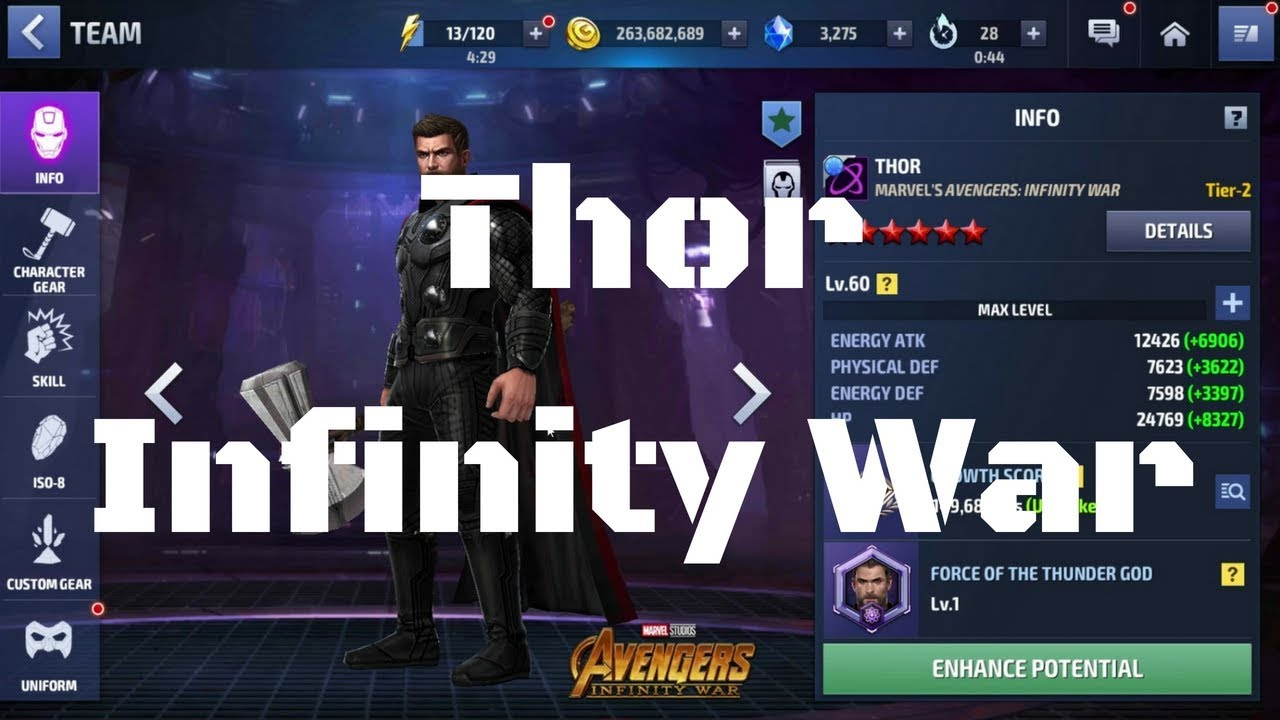 รีวิว Thor ยู Infinity War