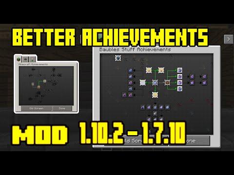 Better Achievements |Mejores Logros | Para 1.10.2 – 1.7.10 En Español | Mod Review