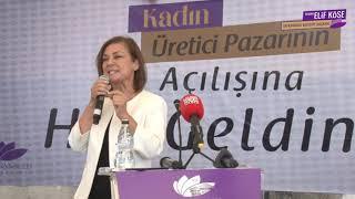 Kadın Üretici Pazarı Yoğun Katılımla Açıldı