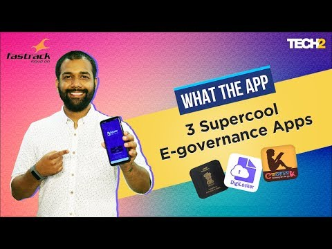 3 Supercool E-governance Apps | What The App