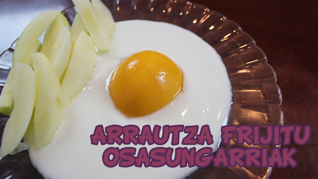 Otarteko osasungarriak: Arrautza eta patata frijituak!! - SUKALDARITZA DIBERTIGARRIA