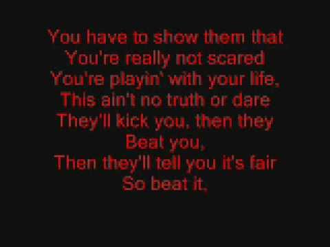 michael jackson english songs lyrics