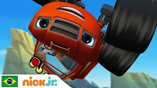 Blaze And The Monster Machines | Momentos Musicais - Parte 1 🎤 | Nick Jr.