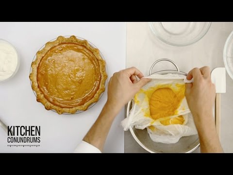 DIY Canned Pumpkin Puree – Kitchen Conundrums with Thomas Joseph
