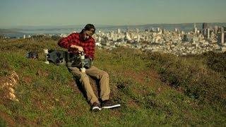Sean Spees on the Arbiter 36 Longboard: San Francisco Sunset