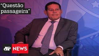Mourão minimiza queda da popularidade de Bolsonaro: