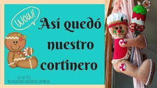 ¡Lindo Cortinero De Galleta De Jengibre! Part. 3 | MCN